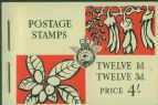 NZ Booklet SGSB23 4/- Pictorial Booklet containing SG782 and 785